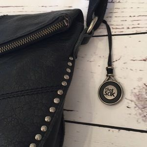 The Sak Bags - The Sak black studded leather Crossbody
